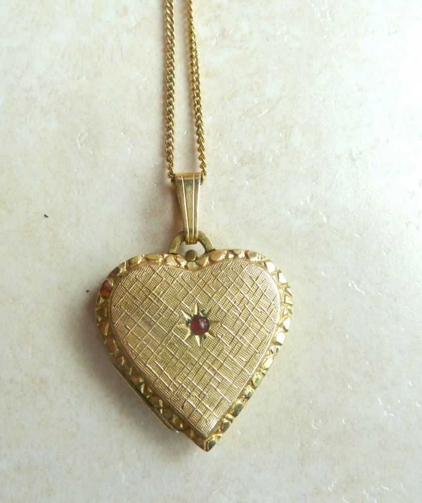 ajraefields tone made heart rose co metal usa boxed photo pendant necklaces locket ky and necklace gold